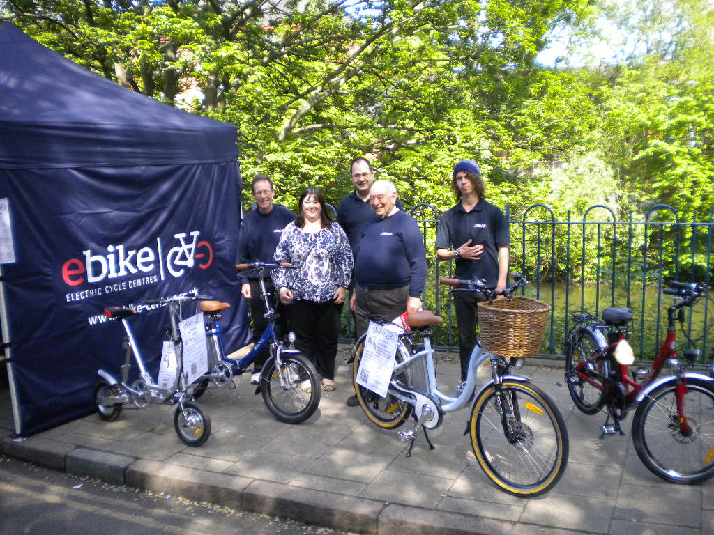 Electric Bikes Come To The Leicester Riverside Festival