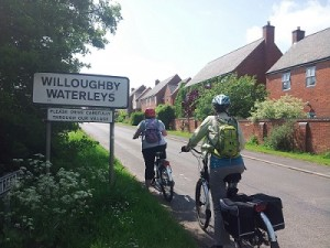 Electric bike tour Willoughby Waterleys