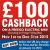 FreeGo £100 cashback